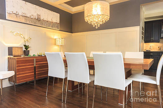 Dining Room Modern by Nancy Harrison
