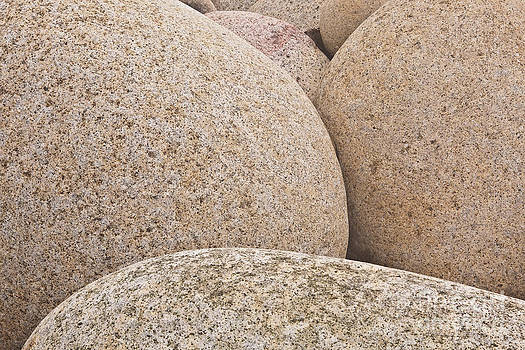Dinosaur eggs of Porth Nanven by Julian Elliott