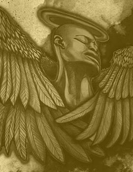 Dishearted Angel by Amanda  Ferrell-Hale