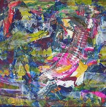 disintegration of Mister in red vest by Dmitry Kazakov