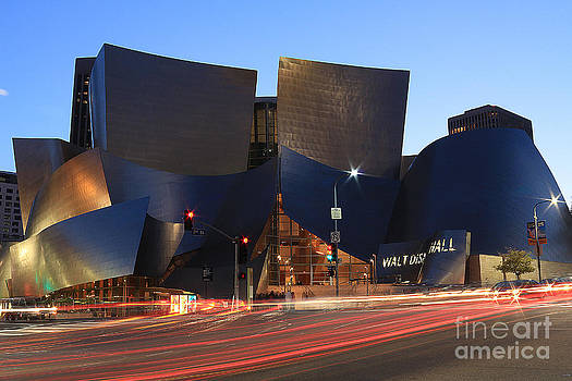 Disney Concert Hall by Kevin Ashley