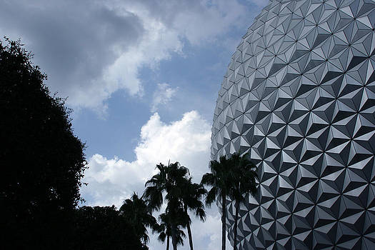 Disney World Epcot Earth by Laurie Poetschke