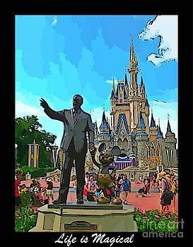 John Malone - Disney World Poster