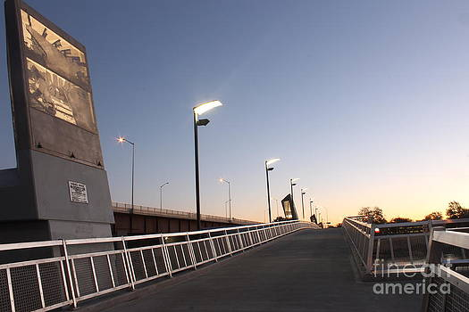 Disraeli Pedestrian Bridge Photo 2 by Stephen Thomas