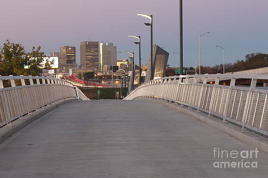 Disraeli Pedestrian Bridge Photo 3 by Stephen Thomas