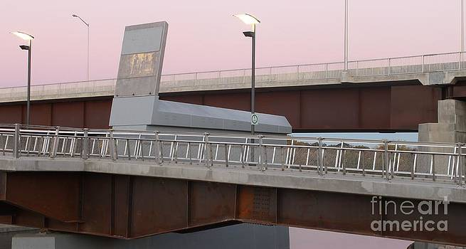 Disraeli Pedestrian Bridge Photo 4 by Stephen Thomas