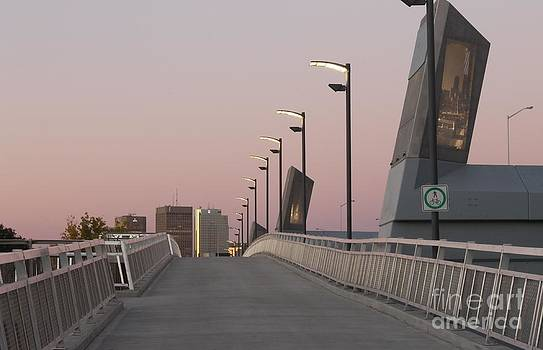 Disraeli Pedestrian Bridge Photo 5 by Stephen Thomas
