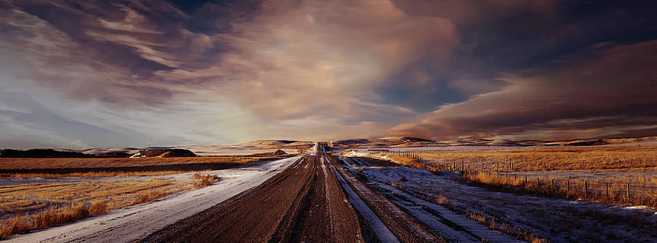 Distant Road by Mindy Mcgregor