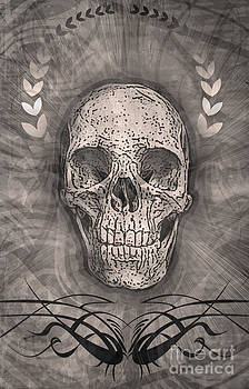 Gregory Dyer - Distressed Skull