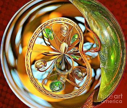 Divine Gems Orbital by Judy Palkimas