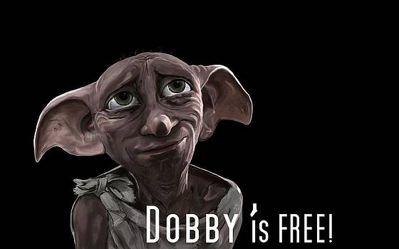 Dobby if FREE Wallpaper by Saskia Ahlbrecht