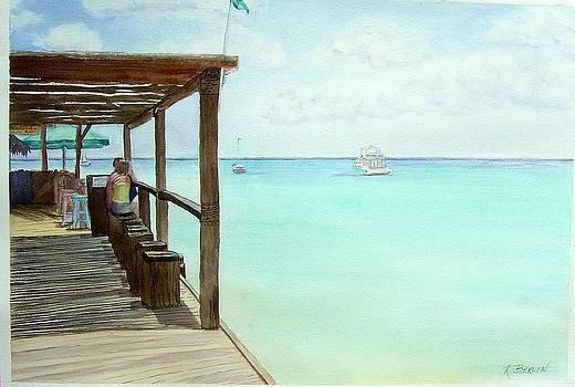 Dock by Katherine  Berlin