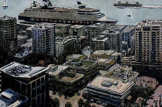 Docked in Seattle by Joe Jaqua