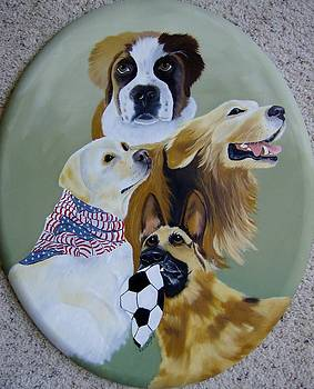 Dog Heros by Debra Campbell