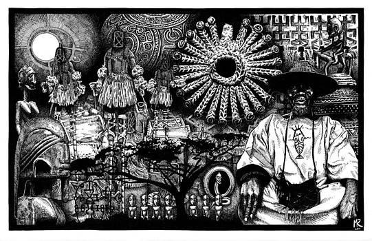 Dogon Dream by Matthew Ridgway