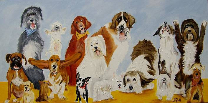 Dogs are People Too by Debra Campbell