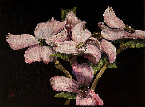Diane Kraudelt - Dogwood In Pink