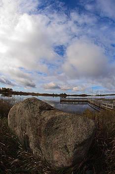 Dollarville Dock by Brady D Hebert