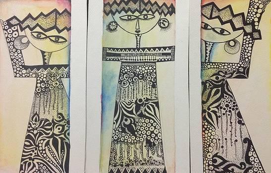 Dolls by Zainab Elmakawy