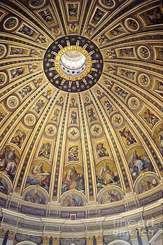 Dome of St Peter's by Derek Croucher