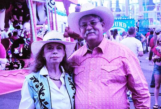 Anne-Elizabeth Whiteway - Don and Me at the Cheyenne Frontier Days