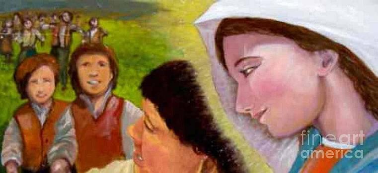 Don Bosco e Maria by Sandro  Mulinacci