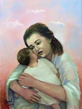 Don't cry my baby by Laila Awad Jamaleldin