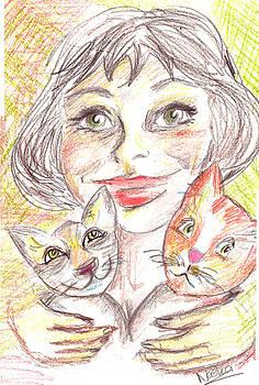 Doodling by Anneke Hut