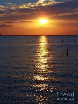 Door County Famous Sunset by Brigitte Emme