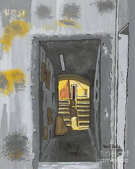Doorway in Cinque Terra by Paul Fields
