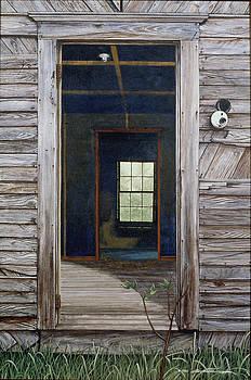 Doorway to the Past by Peter Muzyka