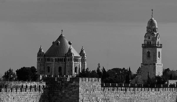 Dormition Abbey by Amr Miqdadi