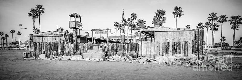 Paul Velgos - Dory Fish Market Newport Beach Panorama Photo