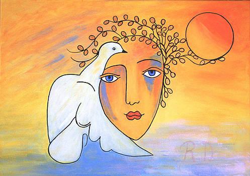 Dove-Whisperer by Renate Dartois
