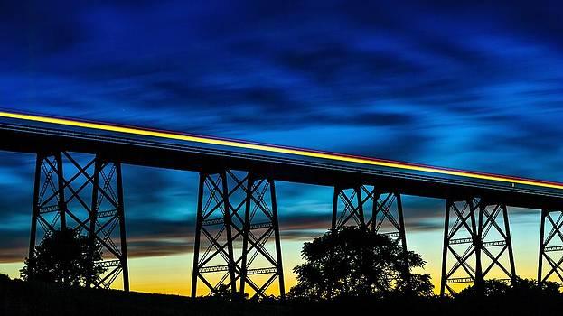 Downbound Metro by Mark Cranston