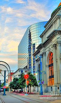 Downtown Buffalo by Kathleen Struckle