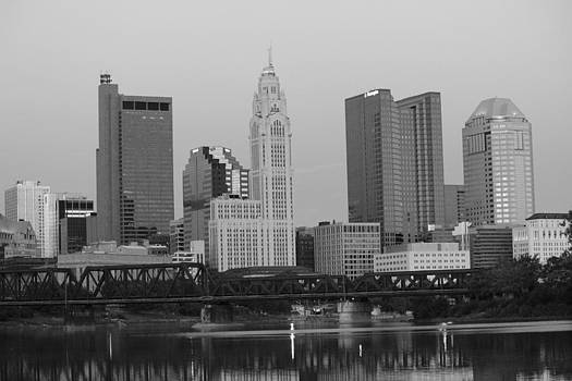 Downtown Columbus Ohio by Mose Mathis
