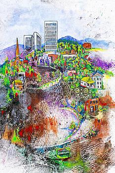 Downtown by Edith Hardaway