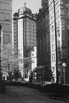 Downtown Pittsburgh by Joann Renner