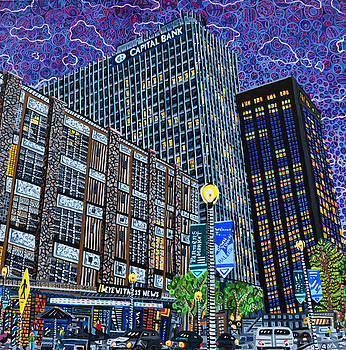 Downtown Raleigh - Hudson Building by Micah Mullen