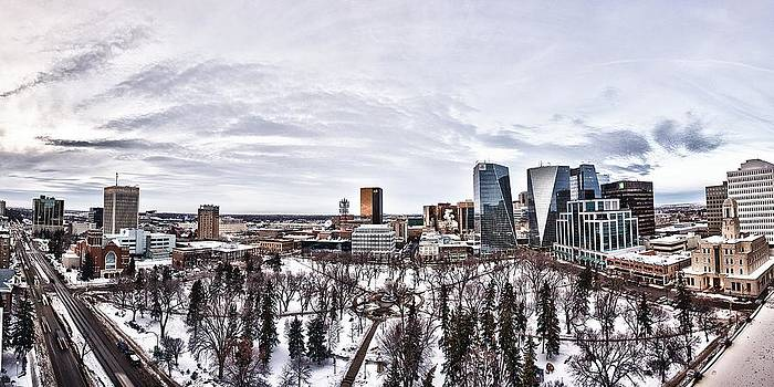 Downtown Regina by JM Photography