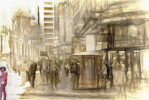 Steve Ohlsen - Downtown Sao Paulo Brazil  4 - 1982 - Topaz