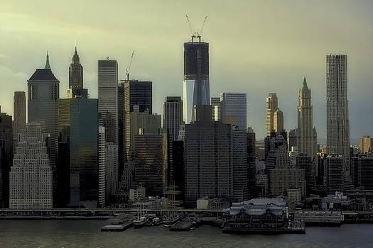 Downtown Skyline by Edward Khutoretskiy