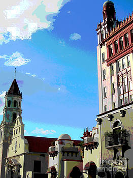 Downtown St. Augustine by Cheri Doyle