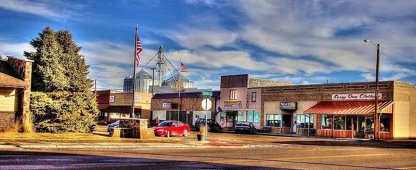 Downtown Terry Montana  by Scott Carlton
