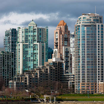 Downtown Vancouver by Dirk Lightheart