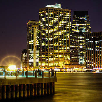 Downtown Lights by Theodore Jones