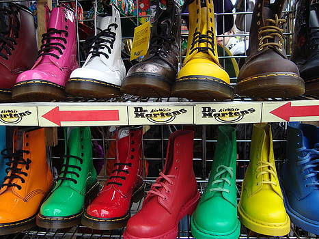 Dr Martens London by Stephen Norris