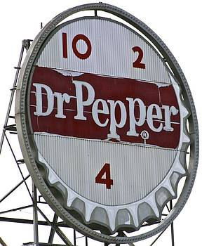 Jennifer Lamanca Kaufman - Dr. Pepper illuminated landmark sign