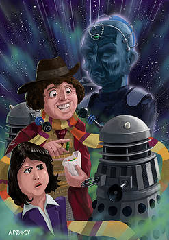 Martin Davey - Dr Who 4th doctor Jelly Baby